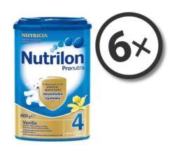 Nutrilon Pronutra 4 Vanilka 800 g 6-pack