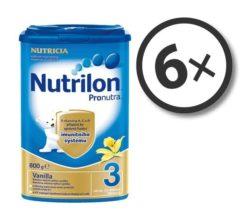 Nutrilon Pronutra 3 Vanilka 800 g 6-pack