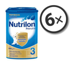 Nutrilon Pronutra 3 800 g 6-pack