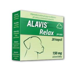 Alavis Relax pro psy 150 mg 20 kapslí